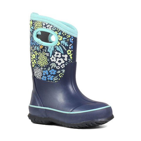 Classic Blue Multi Kids Boot