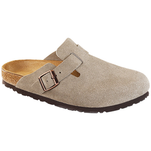 Boston Soft Taupe Suede
