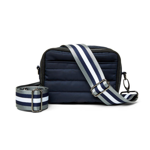 Diva Double Zip Noir Navy