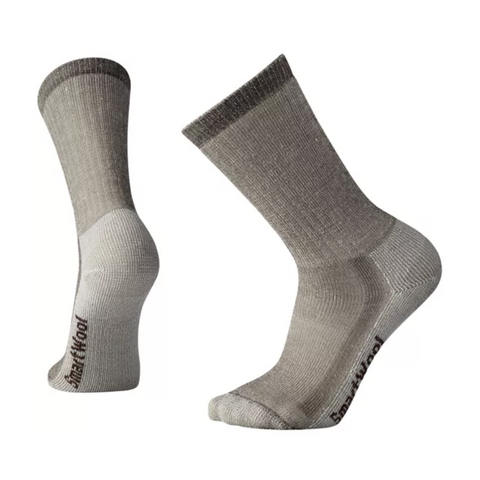 Medium Hiking Crew Socks Taupe