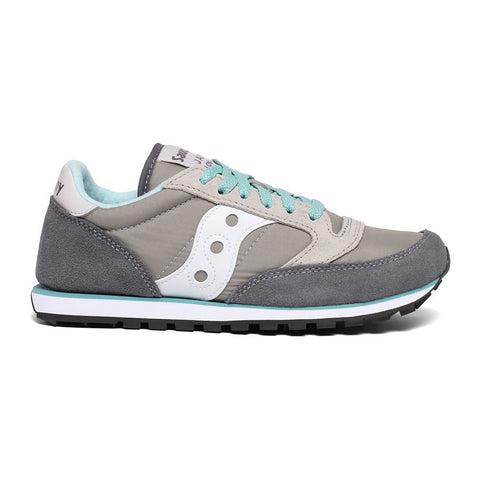 Jazz Low Pro Womens Grey/White