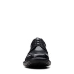 Kempton Run Black Leather