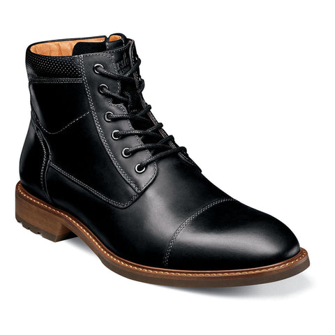 Lodge Cap Toe Boot Black