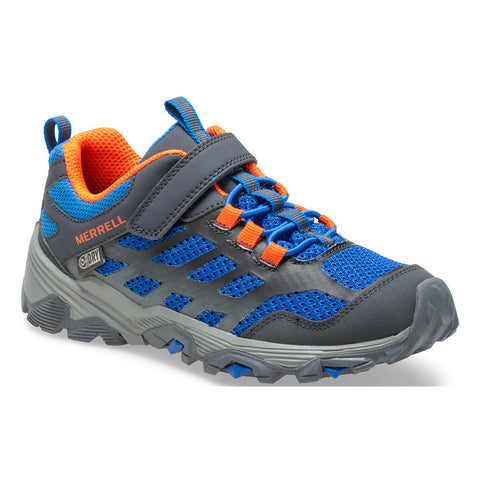 Moab FST Low Waterproof Blue