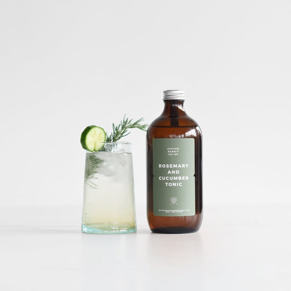 Rosemary + Cucumber Tonic Syrup