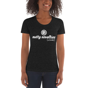 Nutty Novelties Women's Tri-blend Crew Neck T-shirt