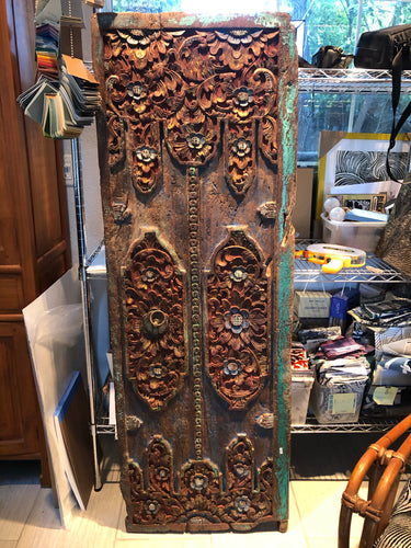 "Bali Door pantry door size 21"" x 61"" hand carved teak"