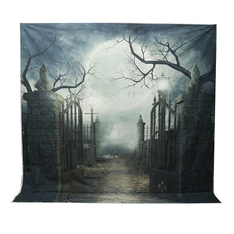 Grave Gate Photography Backdrop Background Prop 3m x 3m