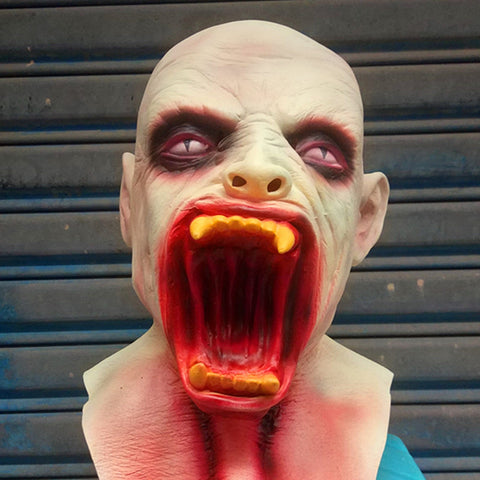 Scary Opened Mouth Horror Costume