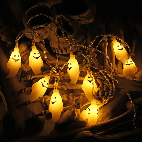 Eye, Ghost Or Skeleton LED String Light