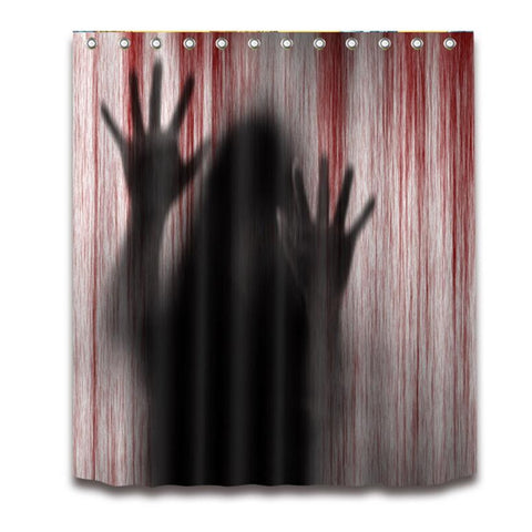 Blood Hands Shower Curtain