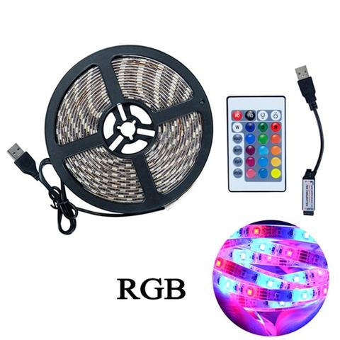 USB LED Strip Light With Remote Control 3m-5m