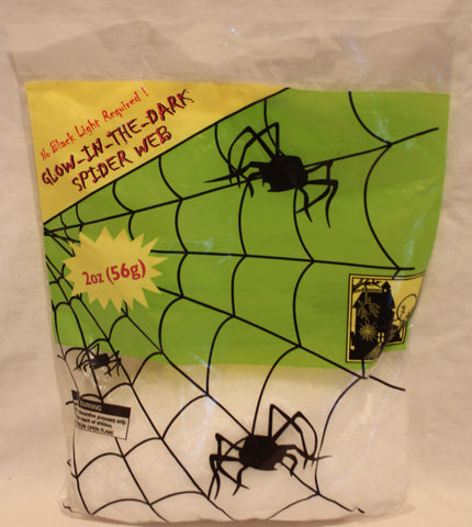 Glow-In-The-Dark Spider Web