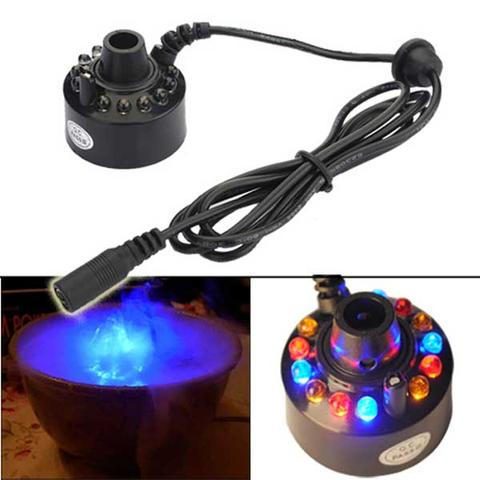 LED Light Ultrasonic Mist Maker Fogger