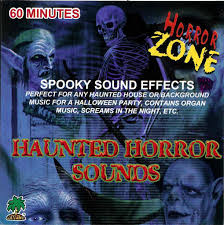 Haunted Horror Sounds CD