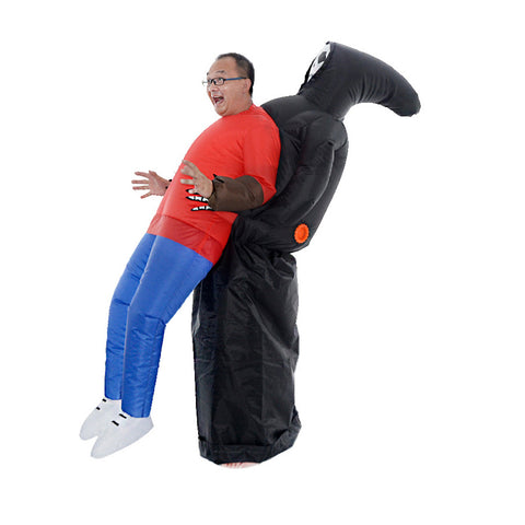 Inflatable Death Costume