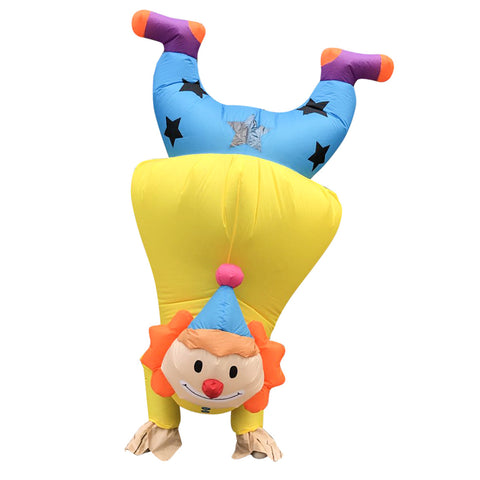 Inflatable Handstand Clown Costume