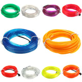 3M Led Flexible EL Wire Neon Glow Light Rope Strip 12V