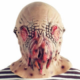 Scary Alien Octopus Head Costume