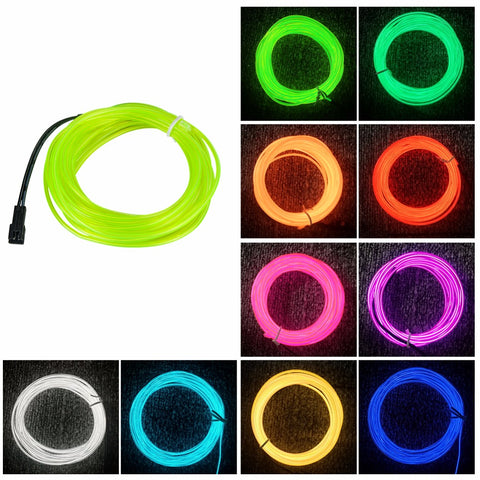 10m LED Rope Light Neon Colours