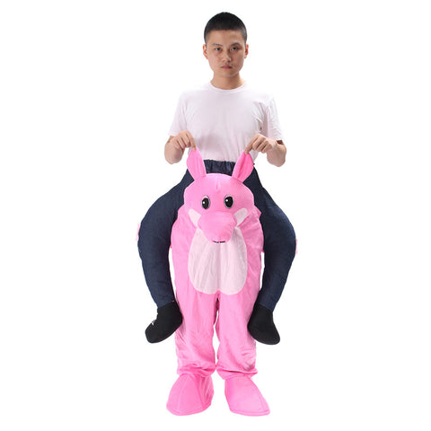 Carry Me Ride On Mascot Costume