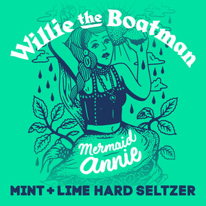 Mermaid Annie - Mint and Lime Seltzer