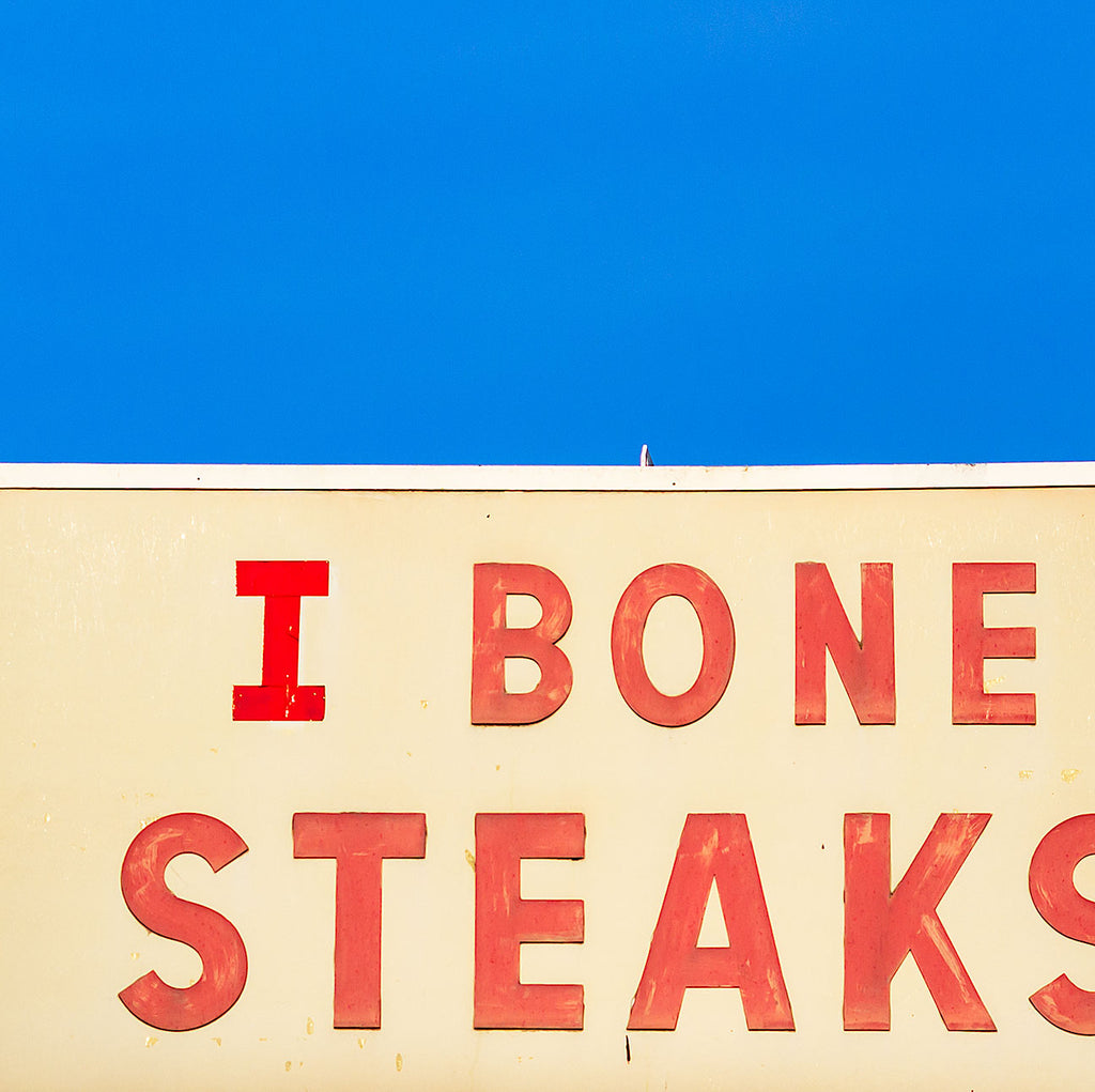 I Bone Steaks Beer Coasters