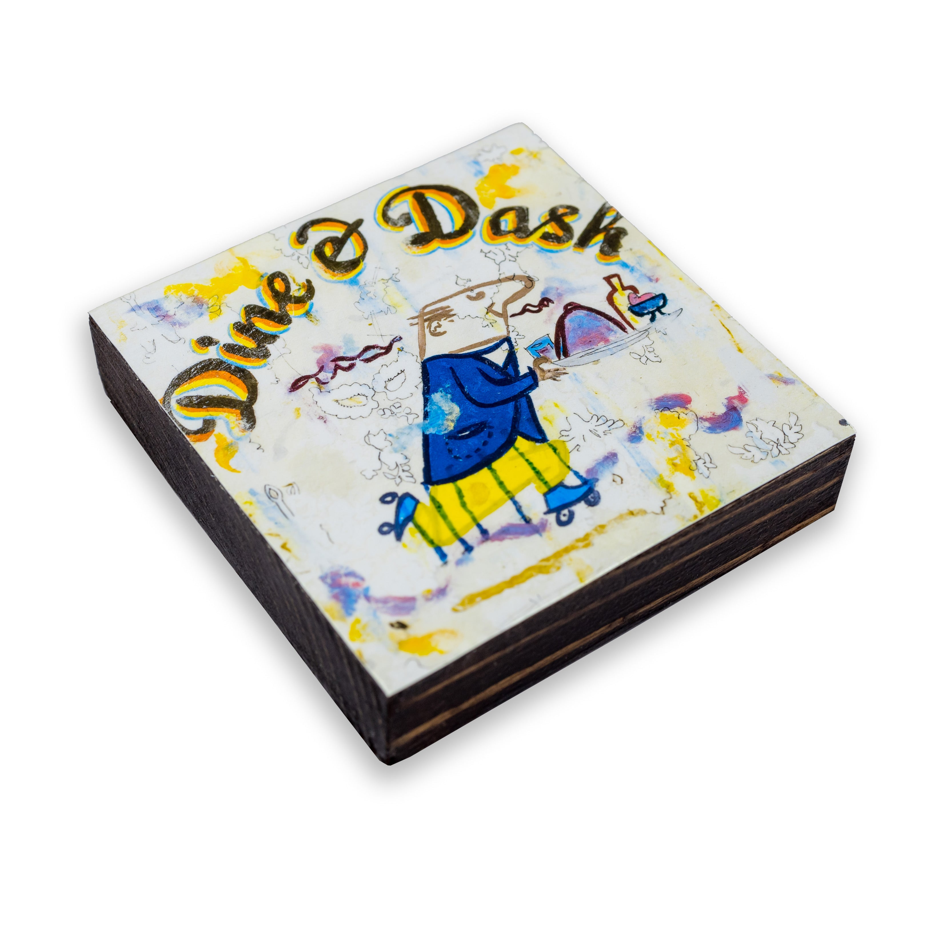 Dine & Dash Beer Coaster