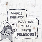 Thrifty Wartime Meals