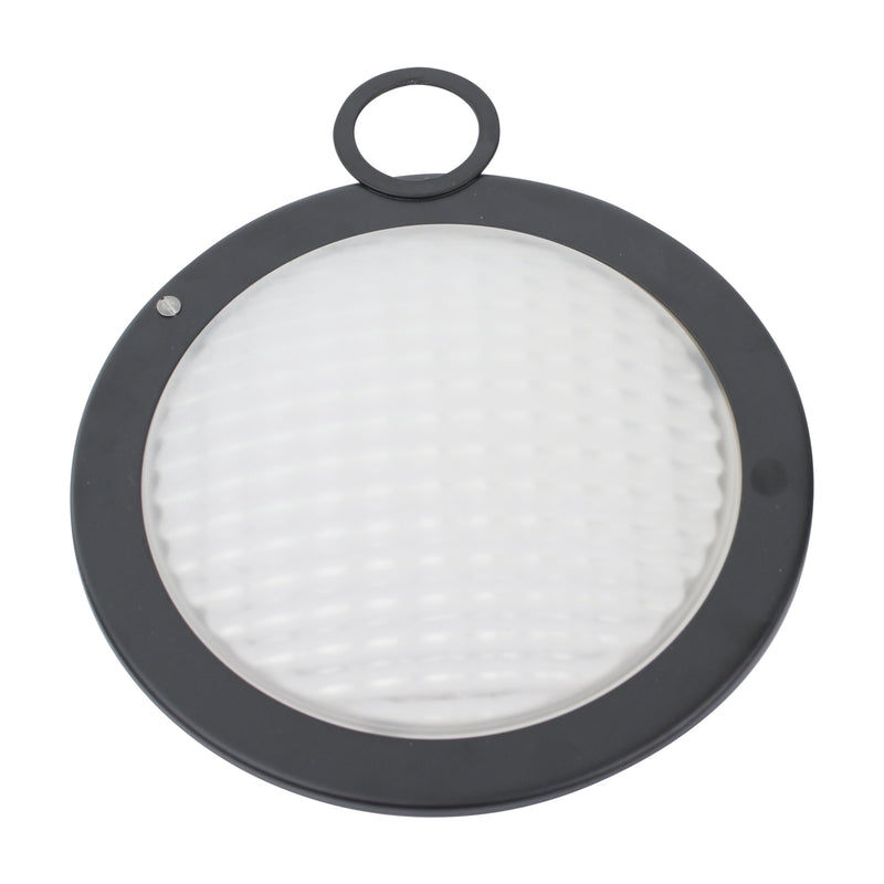 300W Wide Flood Frosted Lens with Lens Ring