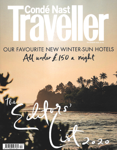 Conde Nast Traveller December Issue