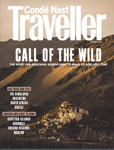 October Conde Nast Travller Issue