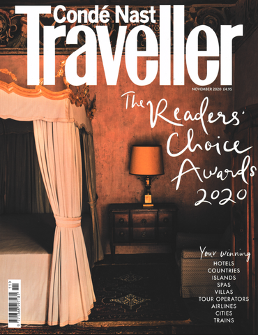 November Cover for Conde Nast Traveller