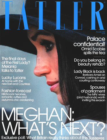 Tatler Magazine Cover November Issue
