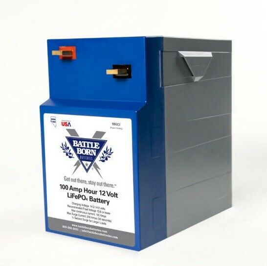 100Ah 12V GC2 LifePO4 Deep Cycle Battery
