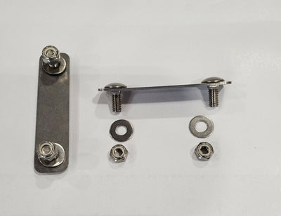 Pair of Roof rail sliders with studs