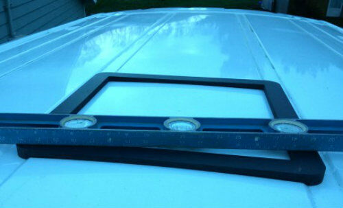"Ford Transit High & Mid Roof Vent Adapter for 14"" x 14"" Opening"