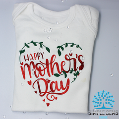 Happy Mothers Day Bodysuit