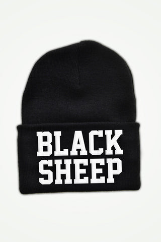 BLACK SHEEP Beanie
