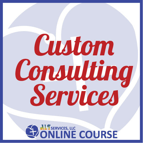 Custom Consulting Invoice