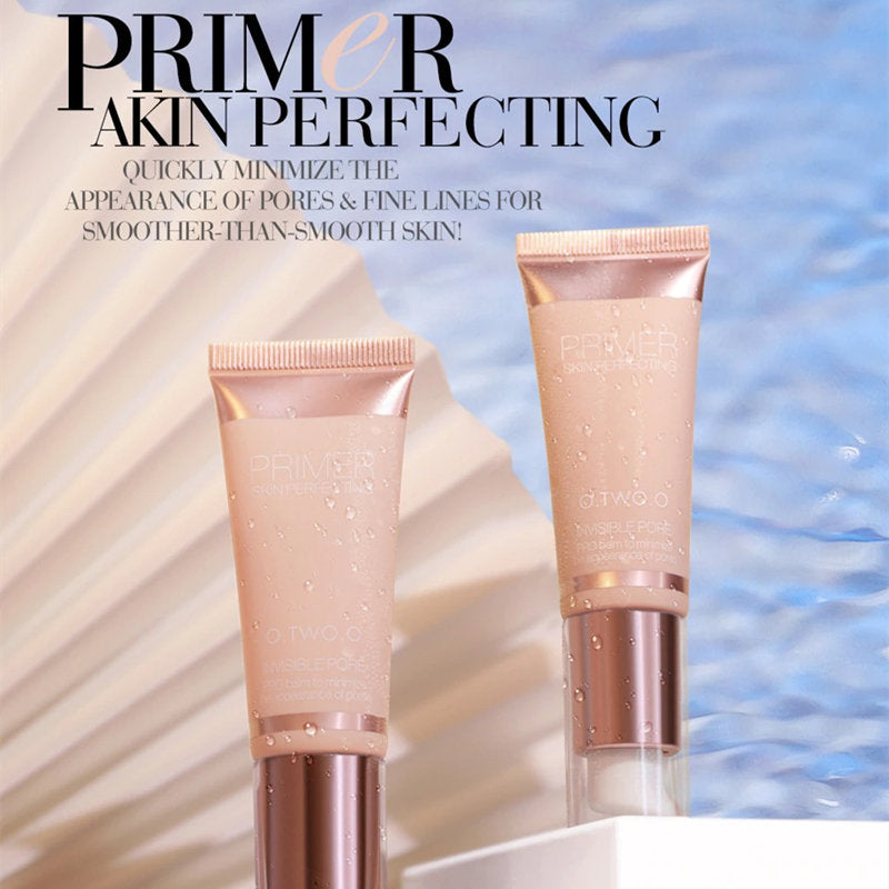 O.TWO.O 2 Pcs Invisible Poreless Oil-Free Makeup Primer T881
