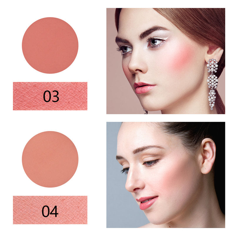 MISS ROSE 8 Colors Long Lasting Mineral Matte Blusher Palette T790
