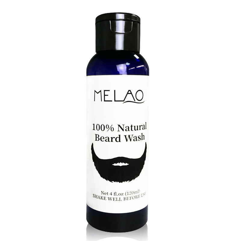 MELAO Natural Soften Strengthen Beard Wash Shampoo T332