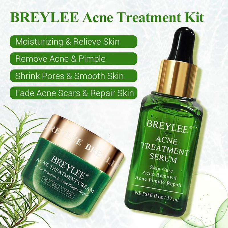 BREYLEE Tea Tree Acne Treatment Kit T258 - Lookhealthystore