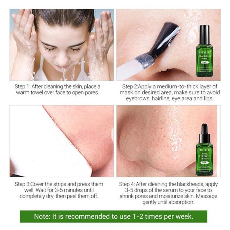 BREYLEE Tea Tree Blackhead Removal Kit T256 - Lookhealthystore