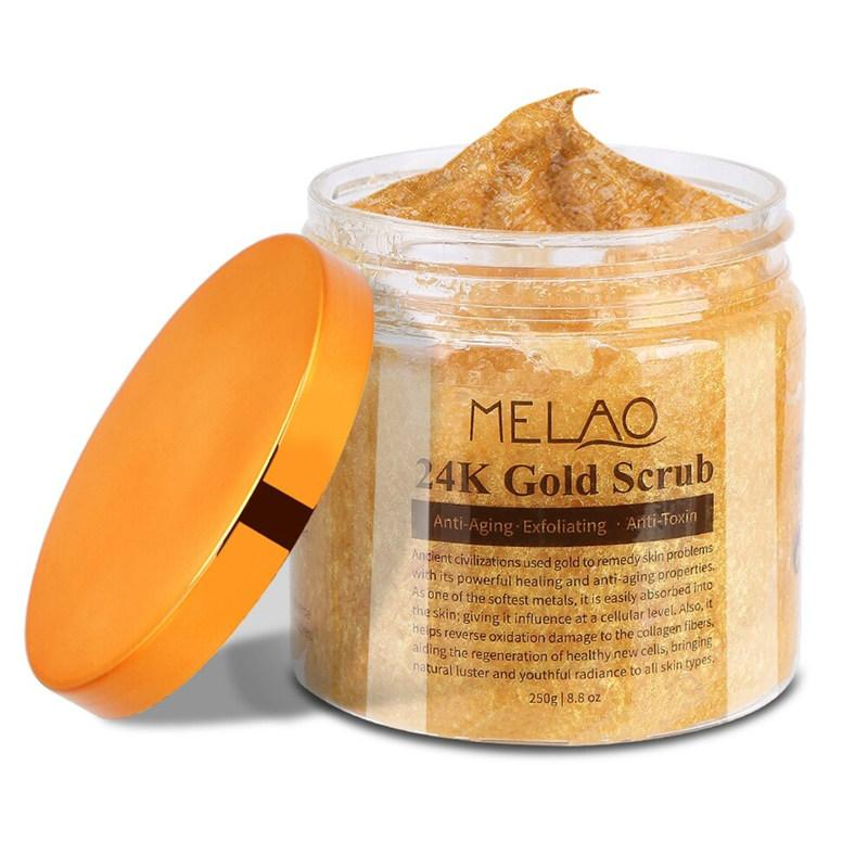 MELAO 24K Gold Anti Wrinkle Exfoliating Body Scrub T310 - Lookhealthystore