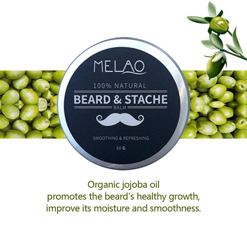 MELAO Beard Smoothing Growth Balm Softener Cream T311 - Lookhealthystore