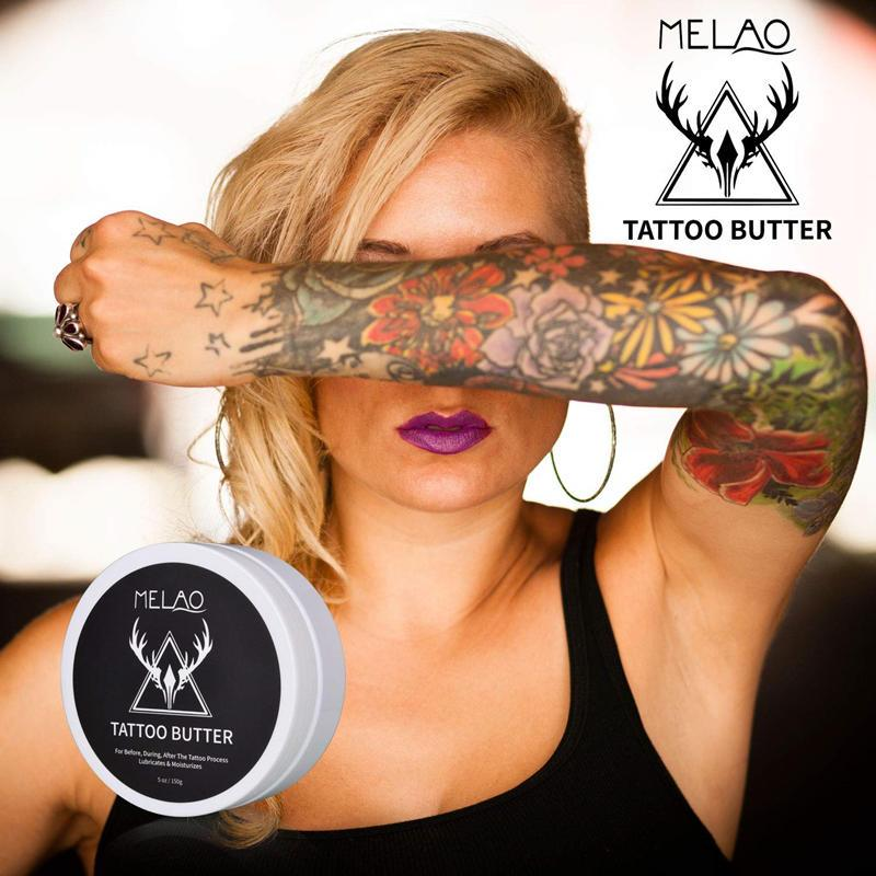MELAO Natural Vegan Tattoo Butter Care Cream T305 - Lookhealthystore