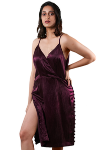 Luxe Silken Dress - Hemis