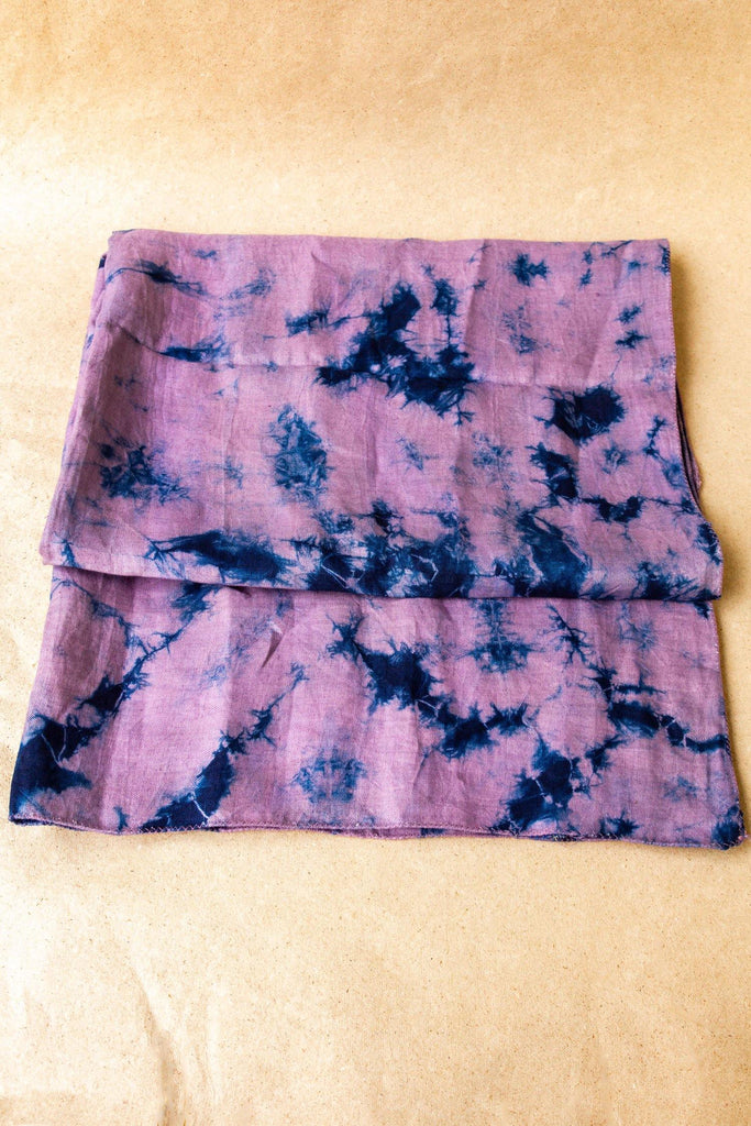 Tie and Dye Hemp Scarf - Hemis
